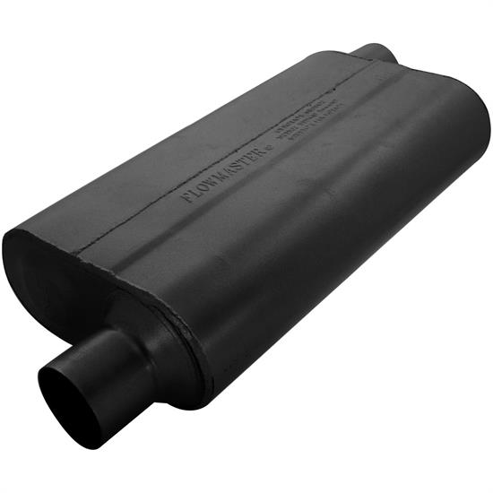 Flowmaster 942553 50 Series Delta Flow Muffler, 2.50 In/Out