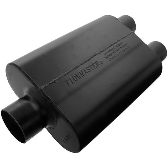 Flowmaster 9430452 Super 44 Series Muffler, 3.00 In/ 2.50 Out