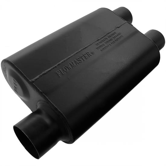 Flowmaster 9430462 Super 44 Series Muffler, 3.00 In/ 2.50 Out