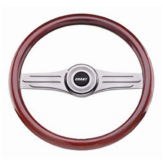 Grant 15872 Heritage Collection Deluxe Steering Wheel,14-3/4, Mahogany