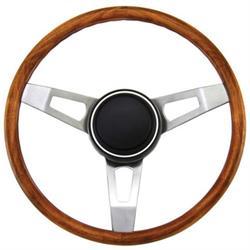 Grant 246 Classic Nostalgia Steering Wheel, 15 Inch, Walnut