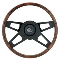 Grant 404 Challenger Series Steering Wheel, 13-1/2 Inch, Walnut