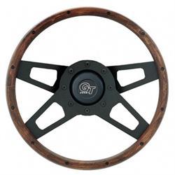 Grant 404 Challenger Series Steering Wheel, 13-1/2 Inch, Walnut