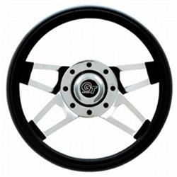 Grant 440 Challenger GT Steering Wheel, 13-1/2 Inch, Chrome