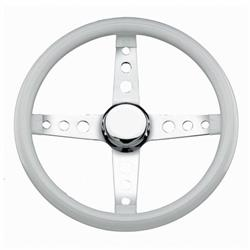 Grant 571 Classic Cruisin Steering Wheel, 13-1/4 Inch, White