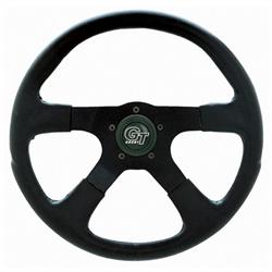 Grant 749 GT Rally Steering Wheel, 14 Inch, Black/Black