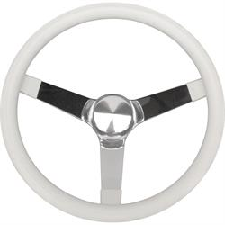 Grant 830 Classic Series Molded Vinyl Steering Wheel, 13-1/2 Inch Solid