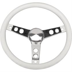 Grant 831 Classic Series Molded Vinyl Steering Wheel, 13-1/2 Inch, 3-Hole