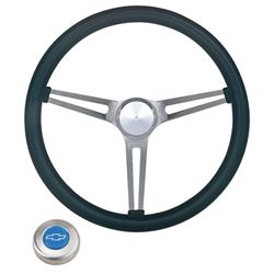Grant 969 Classic Nostalgia Steering Wheel w/ Chevy Horn Button-15 In