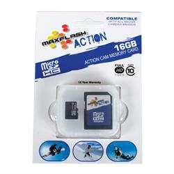 Prime Memory Solutions SD16GTFCL10M-A Mini 16 GB SD Memory Card
