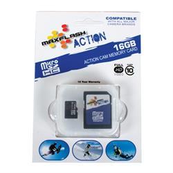 Prime Memory Solutions SD16GTFCL10M-A Mini 16 GB SD Memory Card