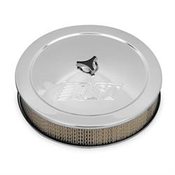 Quick Fuel 120-1QFT Air Cleaner, 14 Inch, Chrome