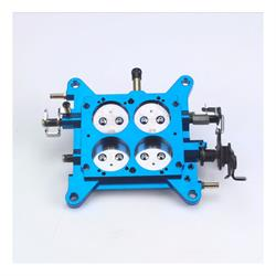 Quick Fuel 12-853QFT Billet throttle Body, 1-3/4 Inch, Blue