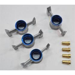 Quick Fuel 21-401AQFT Billet Annular Booster Assembly, 4500, Blue