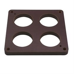 Quick Fuel 300-4006QFT Phenolic Carb Spacer, 1/2 In, 4-Hole, 300-4006