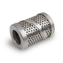 Quick Fuel 30-7308QFT Canister-style Filter Element, Stainless Steel