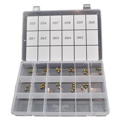 Quick Fuel 36-55QFT Air Bleed Assortment Kit, .055 - .065 Inch