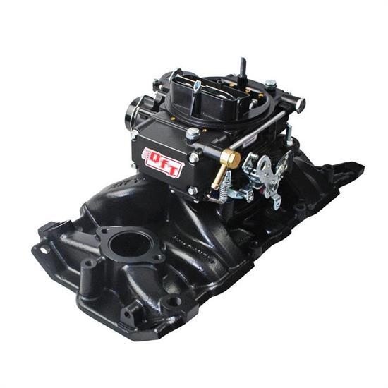 Quick Fuel 701-1BDQFT Intake Manifold, Black Diamond, SBC
