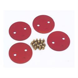 Quick Fuel 9-343RQFT Throttle Plate Big Bore, 2.25 Inch, 4500, Red