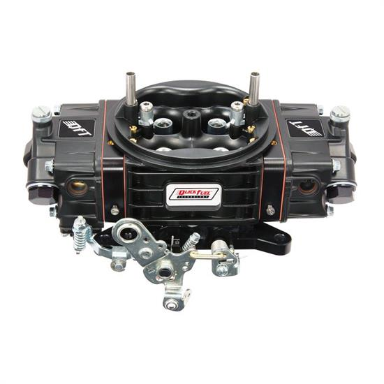 Quick Fuel BDQ-650 Q-Series Carburetor, 650 CFM, Black Diamond