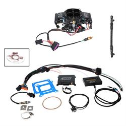 Quick Fuel QFI-500BD Fuel Injection Base Kit, Black Diamond