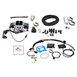 Quick Fuel QFI-500SM Fuel Injection Master Kit, Polished Aluminum