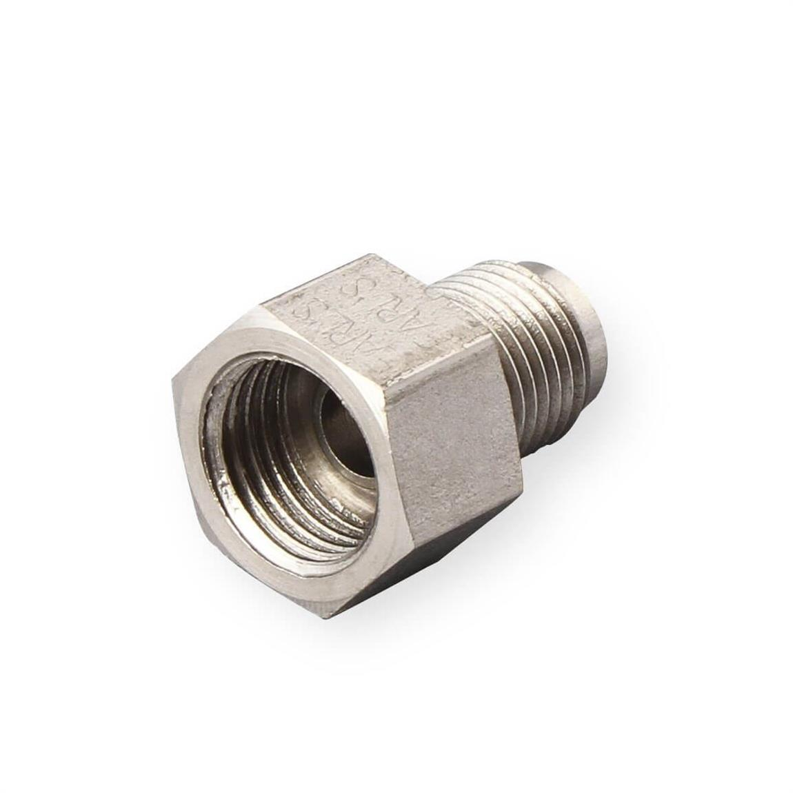 """Earls Fitting Adapter Straight 3AN 7//16-24/""""Inv Flare Male Hardline x2 591932"""
