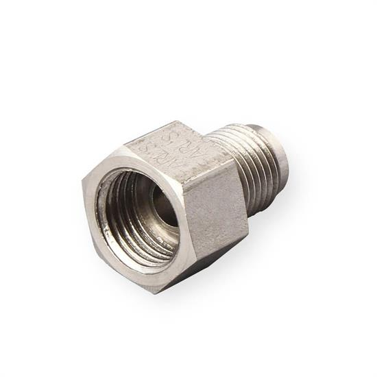 Male Brass Adapter 1//card 7//16-24 Inverted 9//16-18 Inverted Female
