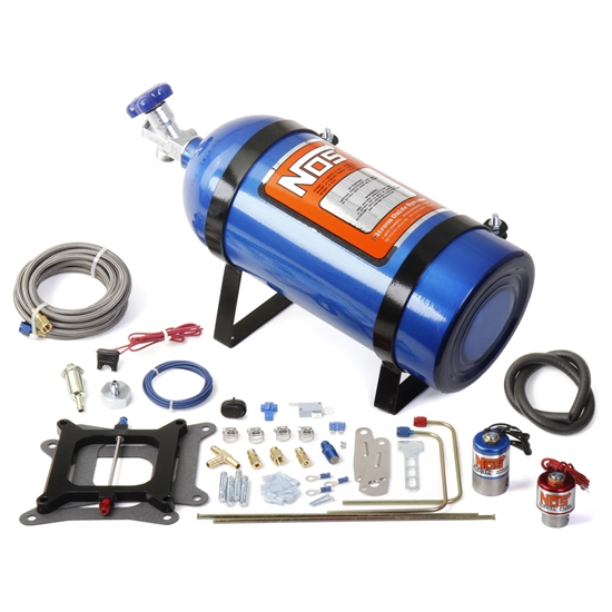 NOS 02001NOS Cheater Nitrous System V8 Holley 4 bbl/Carter AFB