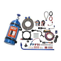 NOS 02126NOS Complete Wet Nitrous System 15-17 Mustang 5.0L, Blue