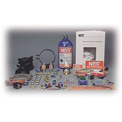 NOS 03003NOS Nitrous System, Two Cylinder Kit for Engines Over 500cc
