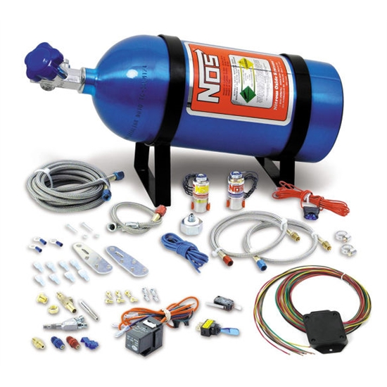 NOS 05135NOS Universal 8 cylinder Wet Nitrous System