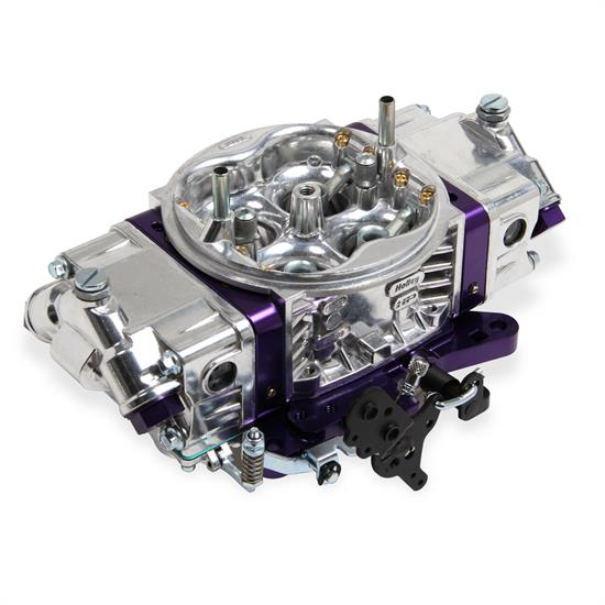 Holley 0-67199PL 650 CFM Track Warrior Carburetor, Purple