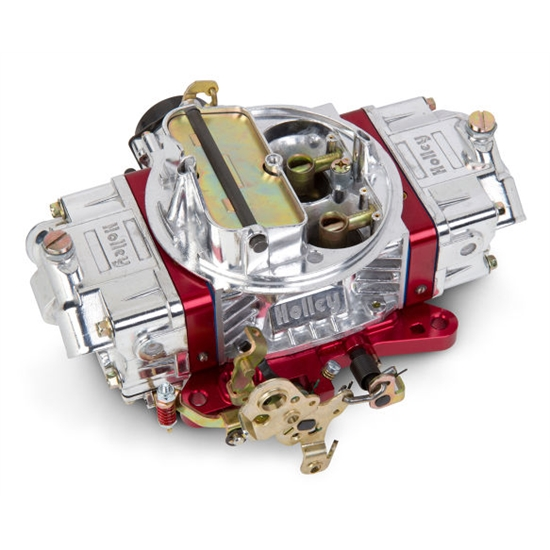 Holley 0-76650RD 650 CFM Ultra Double Pumper Carburetor, Red