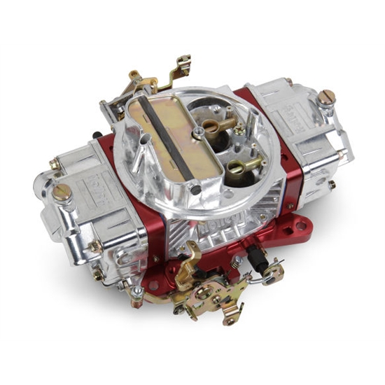 Holley 0-76651RD 650 CFM Ultra Double Pumper Carburetor, Red