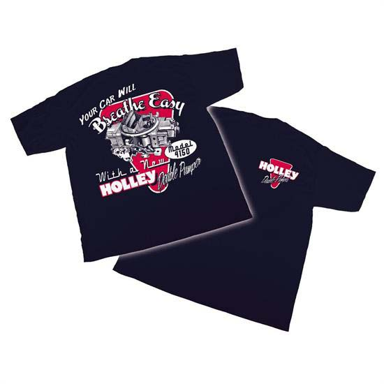 Holley 10015-XXXLHOL Navy with Red//Grey XXX-Large Fine Art You Can Wear T-Shirt