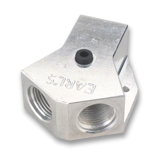 Earls 100176ERL Fuel Distribution Block Style B Inlet