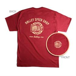 Holley Speed Shop Red T-Shirt