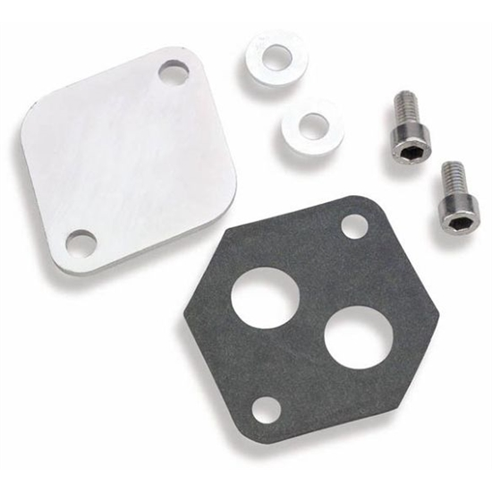 Holley 112-560 IAC Block-Off Plate for Ford Throttle Bodies
