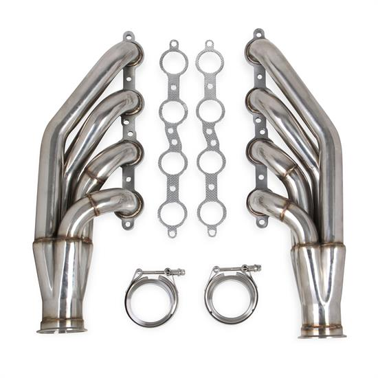 Flowtech 11540FLT LS Turbo Headers, Polished, GM 4.8/5.3/6.0L V8