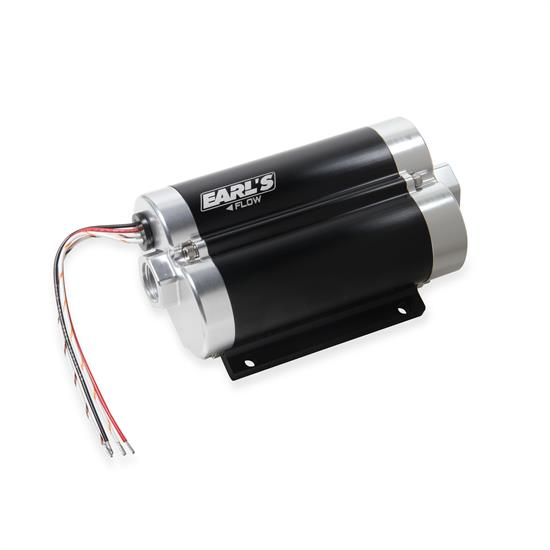 Earls 1201200ERL 130 GPH Dominator In-Line BilletFuel Pump