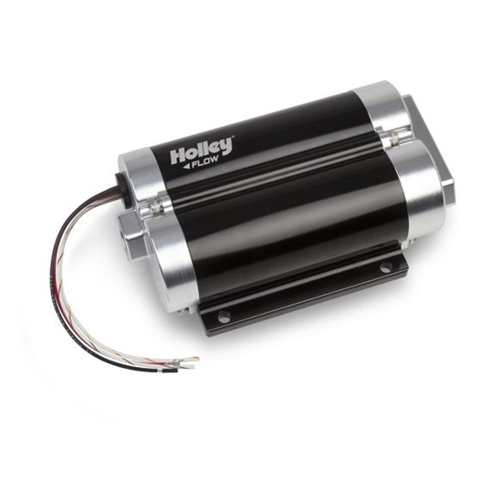 Holley 12-1200-2 130 GPH Dominator In-Line Billet Fuel Pump