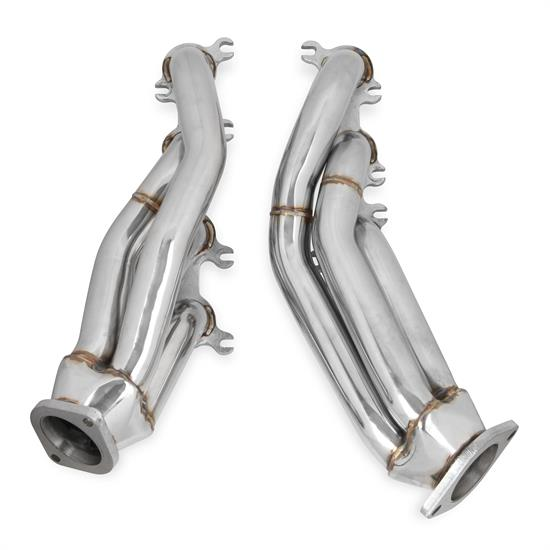 Flowtech 12132FLT Shorty Headers, Polished Finish, 2011-2014 Mustang