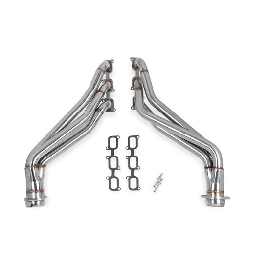 Flowtech 12143FLT Long Tube Header, Polished Finish, 2011-14 Mustang