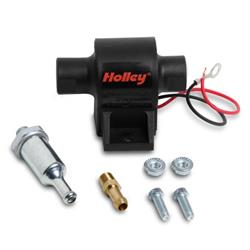 Holley 12-426 25 GPH Mighty Mite Electric Fuel Pump, 1.5-4 PSI