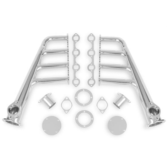 Flowtech 12703-2FLT Small Block Ford Lakester Header, Chrome Finish