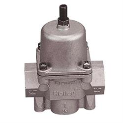Holley 12-704 Big Port Adjustable Fuel Pressure Regulator, 4.5-9 PSI