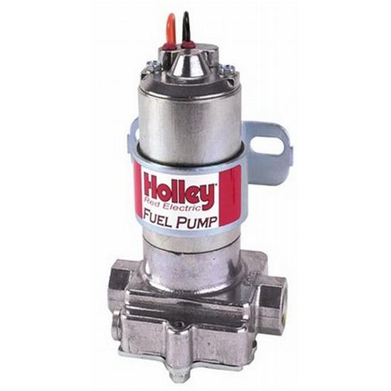 Holley 12-801-1 Red Standard Pressure Electric Fuel Pump