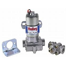 Holley 12-802-1 110 GPH Blue Electric Fuel Pump with Regulator