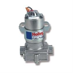 Holley 12-812-1 110 GPH Blue Electric Pump without Regulator
